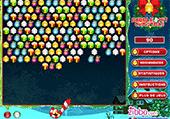 Réunis les balles de Noël