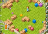 Cubes colorés à regrouper