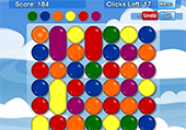 Balles d'une seule couleur