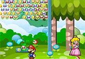 Mario bubbles fruits