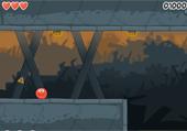 Balle rouge et parcours