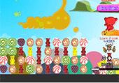 Cliquer sur des bonbons
