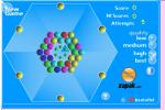 Balles sur un hexagone