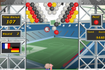 Jeu de balle: match de foot