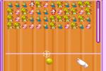 Jeux de balle contre les insectes